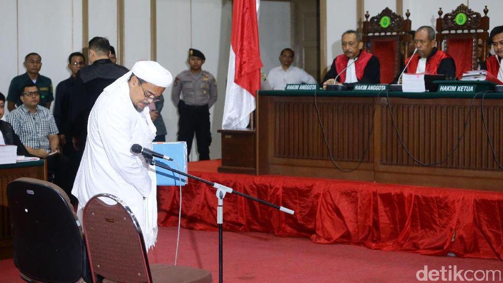 Sidang Ahok, Habib Rizieq: Andaikata Minta Maaf, Hukum Tetap Jalan