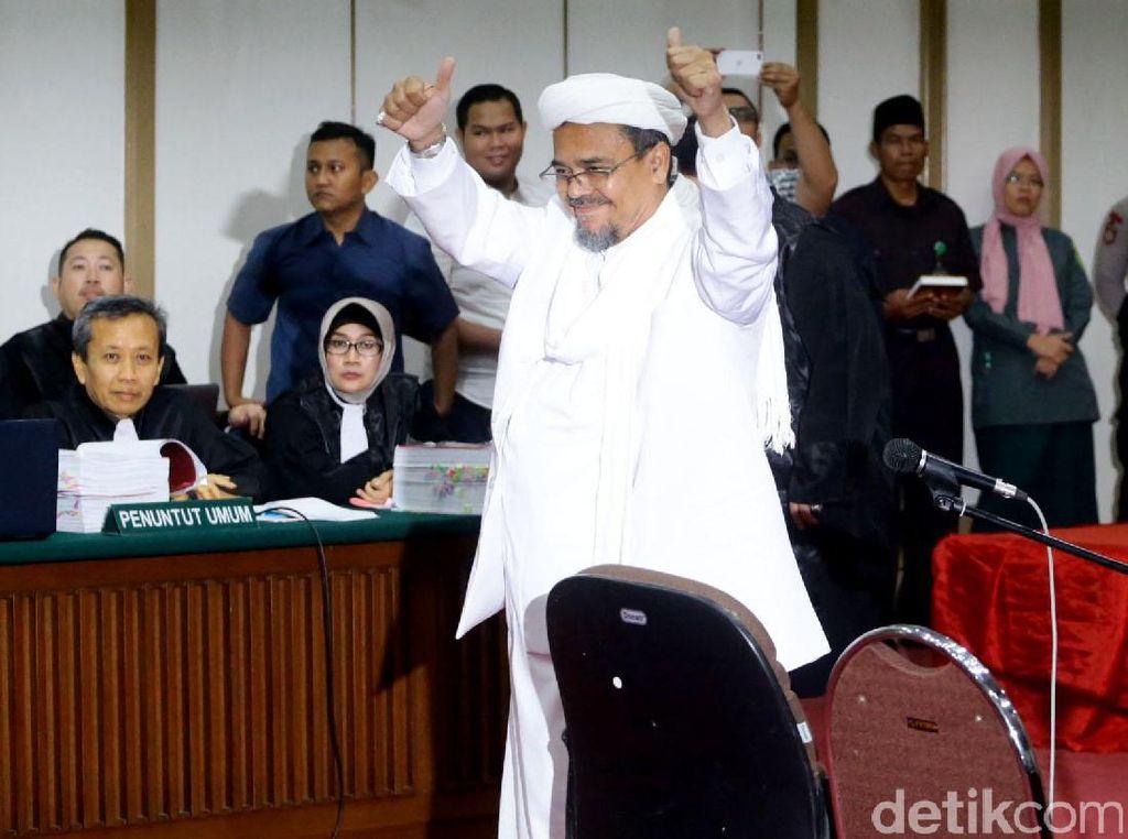 Habib Rizieq: Ahok Buat Lelucon soal WiFi dengan Nama Al-Maidah