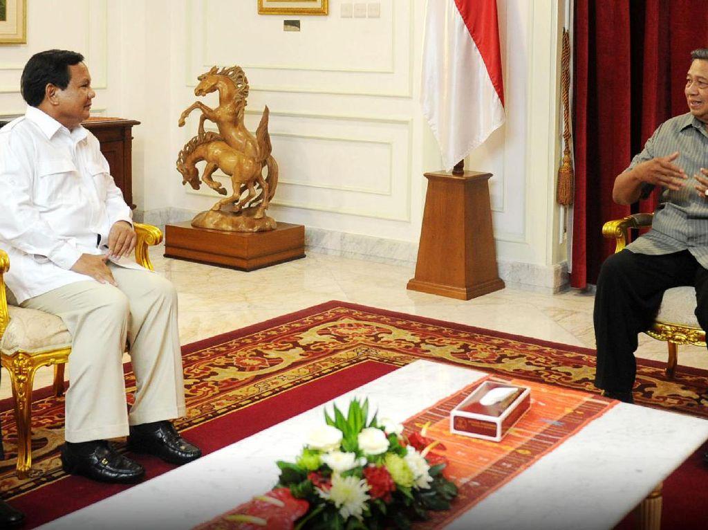 Menanti Pertemuan SBY dan Prabowo dalam Hangatnya Pilgub DKI