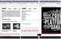 Membuat typography di wordle.net.