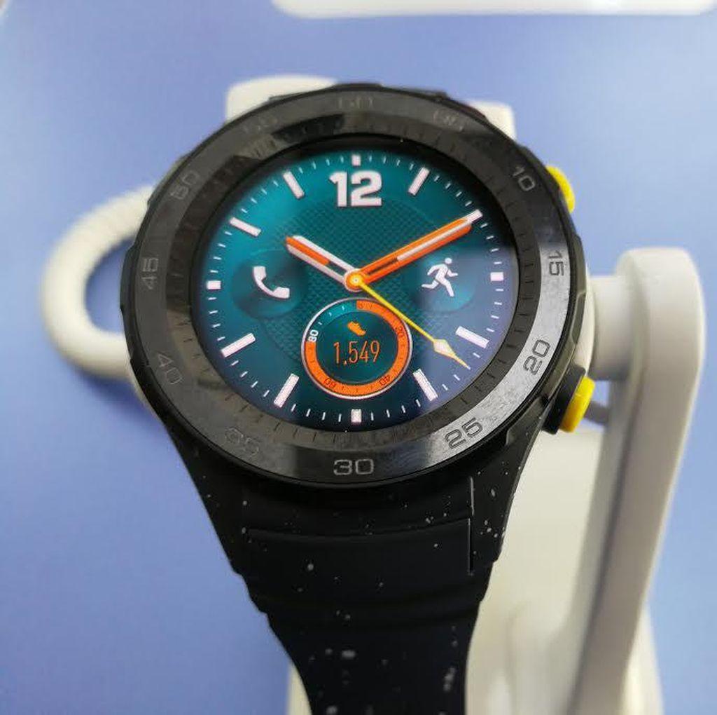 Dampingi P10, Huawei Watch 2 Diresmikan