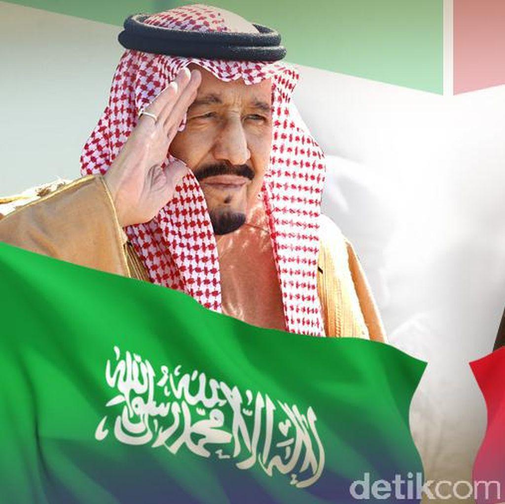 Pertemuan Jokowi-Raja Salman di Istana Bogor Akan Dimulai Sore Hari