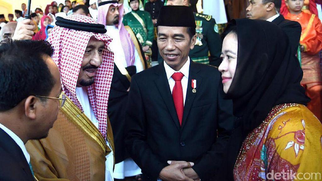 Saat Raja Salman Mencari Tahu Keberadaan Cucu Sukarno