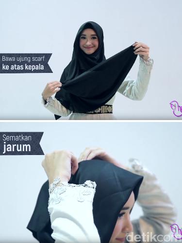 Tutorial Hijab Syar'i Ala Si Cantik Bersuara Merdu, Bella Almira