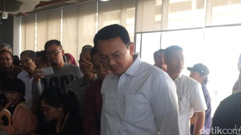 Ahok Sempat Beri Salam OK OCE Usai Peresmian Jakarta Creative Hub