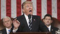 Trump Bakal Pangkas Pajak Penghasilan Jadi 15%