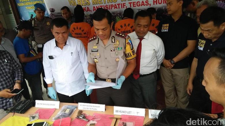 Rampas Motor Driver Gojek, Komplotan Begal Asal Palembang Diringkus