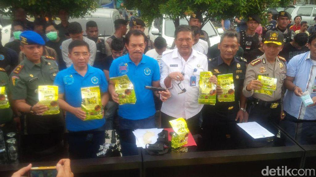 Tembak Mati Bandar Narkoba di Medan, BNN Sita Sabu 46 Kg
