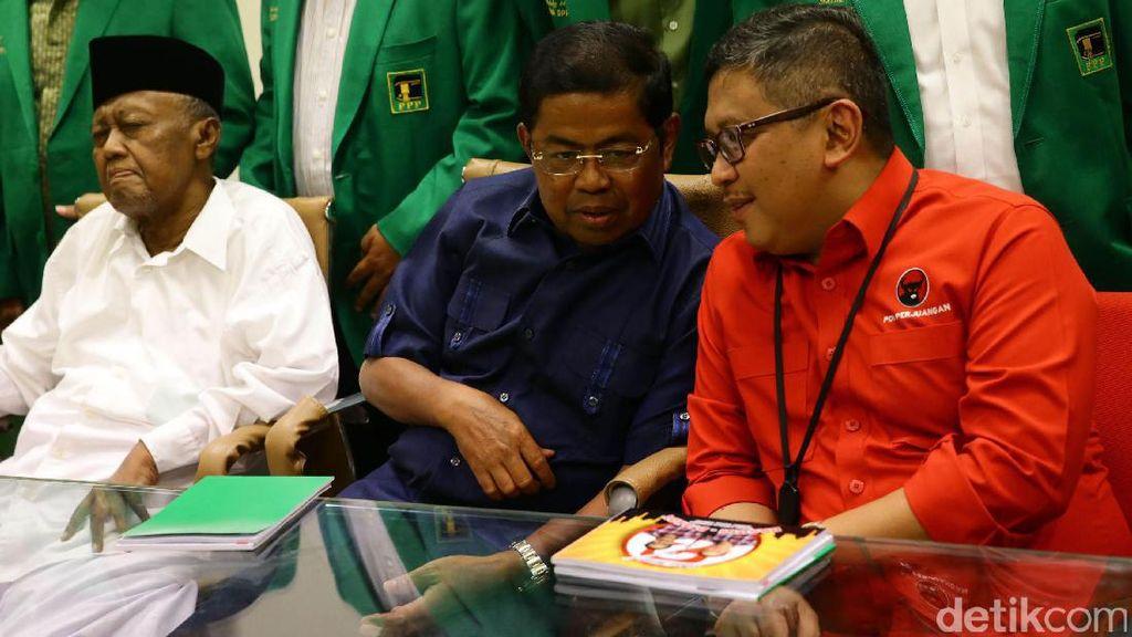 PDIP: Basis Pemilih Agus Sama dengan Partai Pendukung Ahok-Djarot