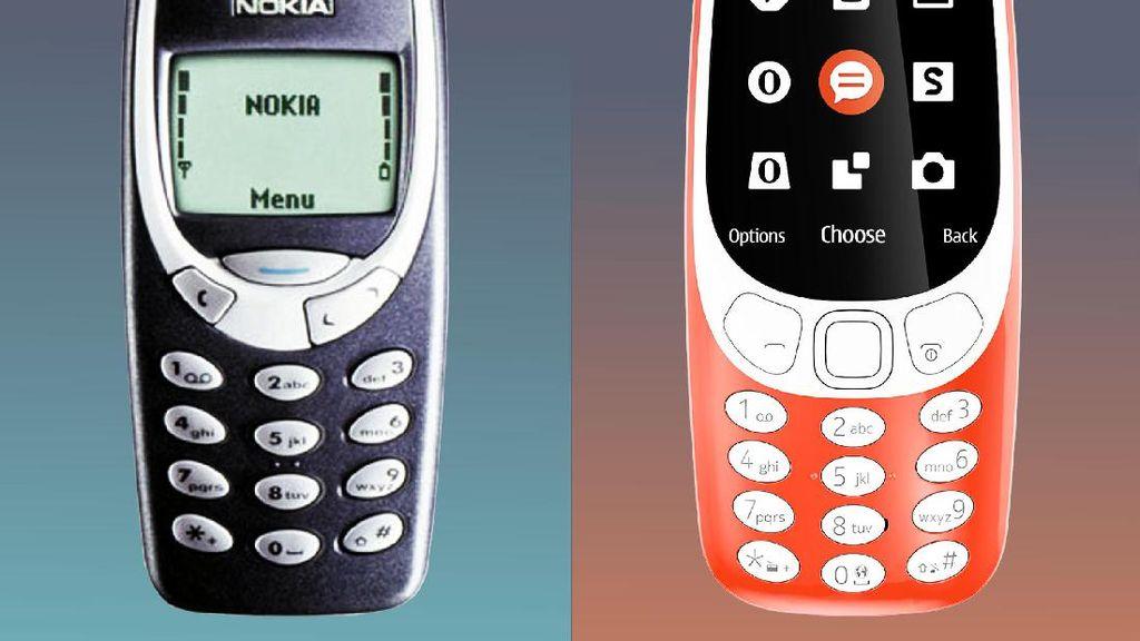 Nokia 3310 Lawas vs Nokia 3310 Reborn