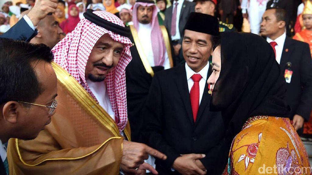 Raja Salman Panggil Cucu Bung Karno