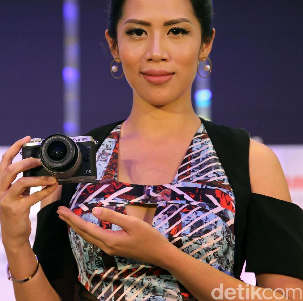 Usung Gaya Retro, Mirrorless Canon EOS M6 Diluncurkan