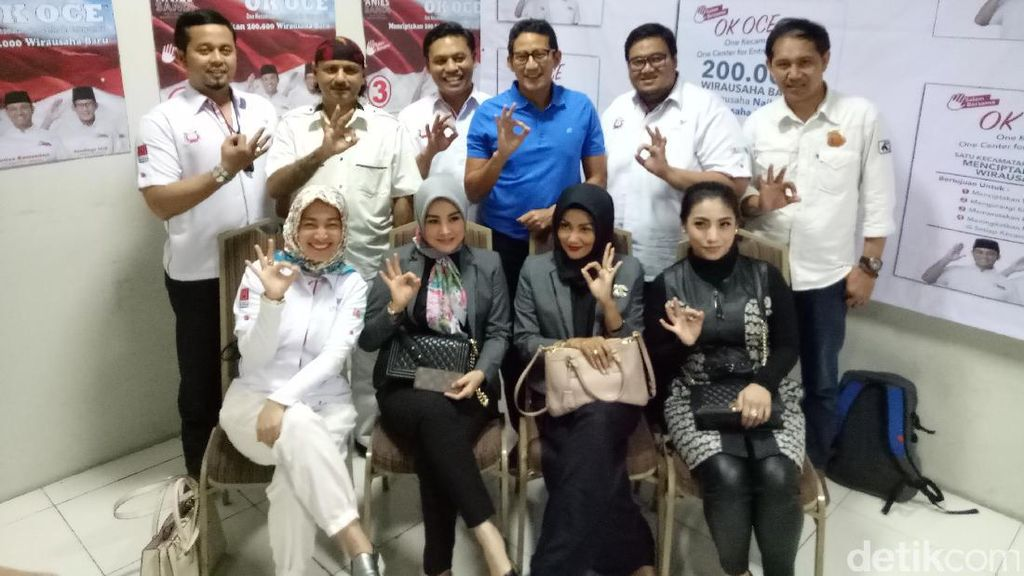 Sandiaga Janjikan Kafe Dangdut Melalui Program OK OCE