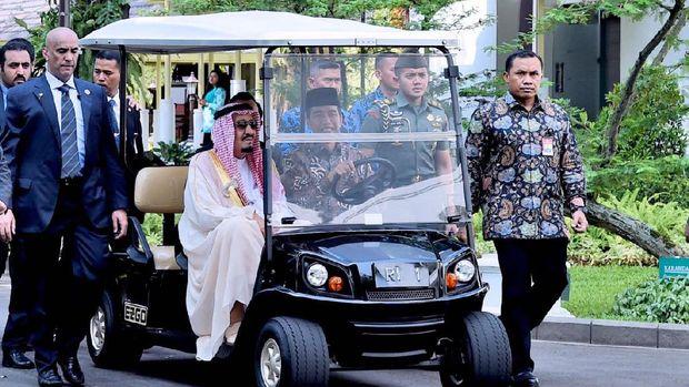 Jokowi dan Raja Salman