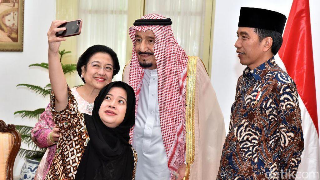 Jadi Incaran Selfie, Raja Salman Dibahas Kantor Berita Asing