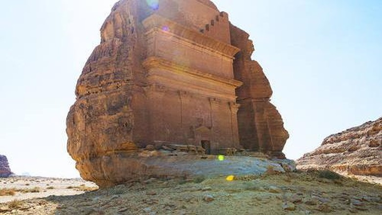 Qasr Al Farid atau kastil kesepian di Arab Saudi (Vincent Ko Hon Chiu/UNESCO)