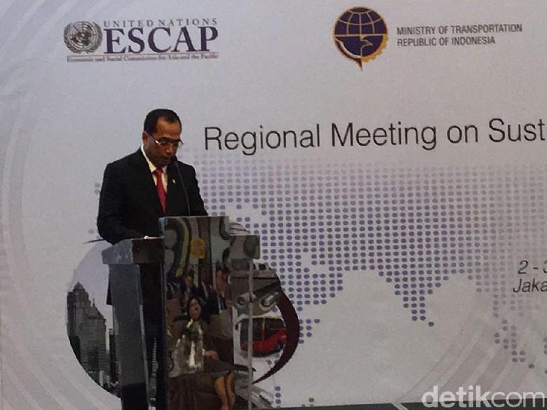 Di Depan Delegasi Asia Pasifik, Menhub Pamer Transportasi RI