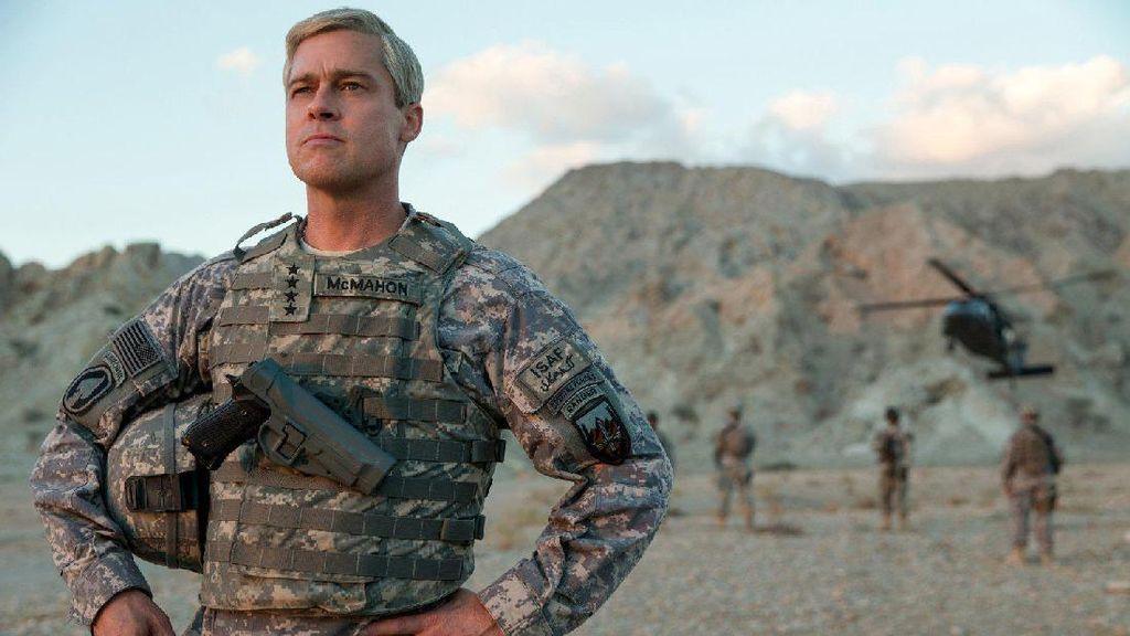 Jenderal Arogan ala Brad Pitt di Teaser War Machine