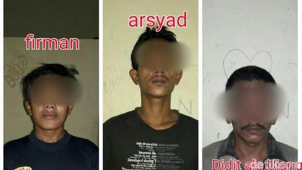 Gergaji Terali Sel, 3 Tahanan Polsek Lirik Riau Kabur