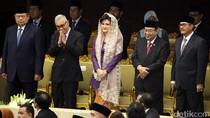 Menteri dan Petinggi Parpol Hadiri Pidato Raja Salman