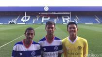 Tiga Anak Indonesia Berlatih di Markas QPR