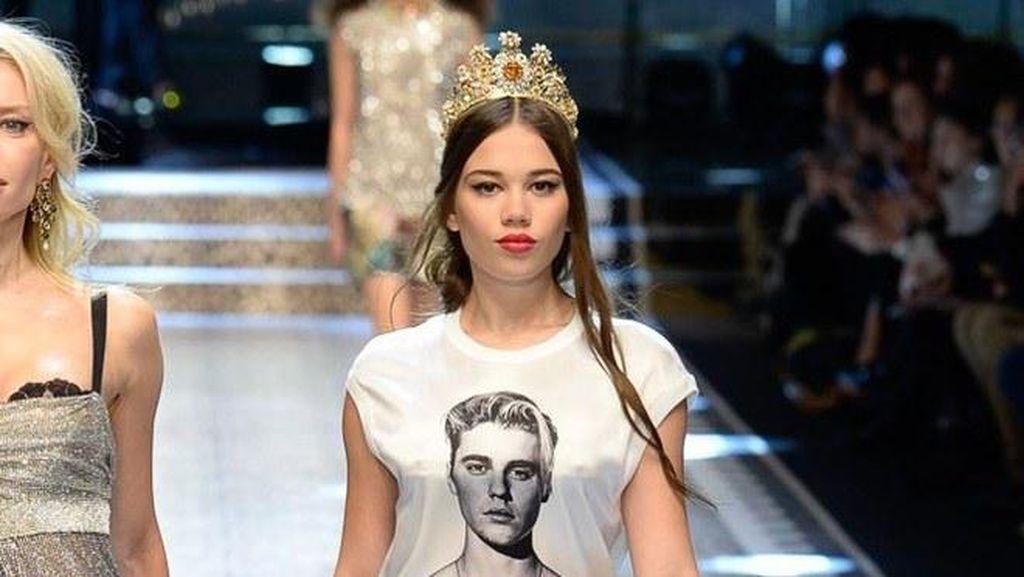 Demi Generasi Muda, Dolce & Gabbana Buat T-shirt Gambar Justin Bieber