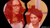Sahabat Kenang Sosok Jupe, Aming dan Evelyn Tak Hadiri Sidang Cerai
