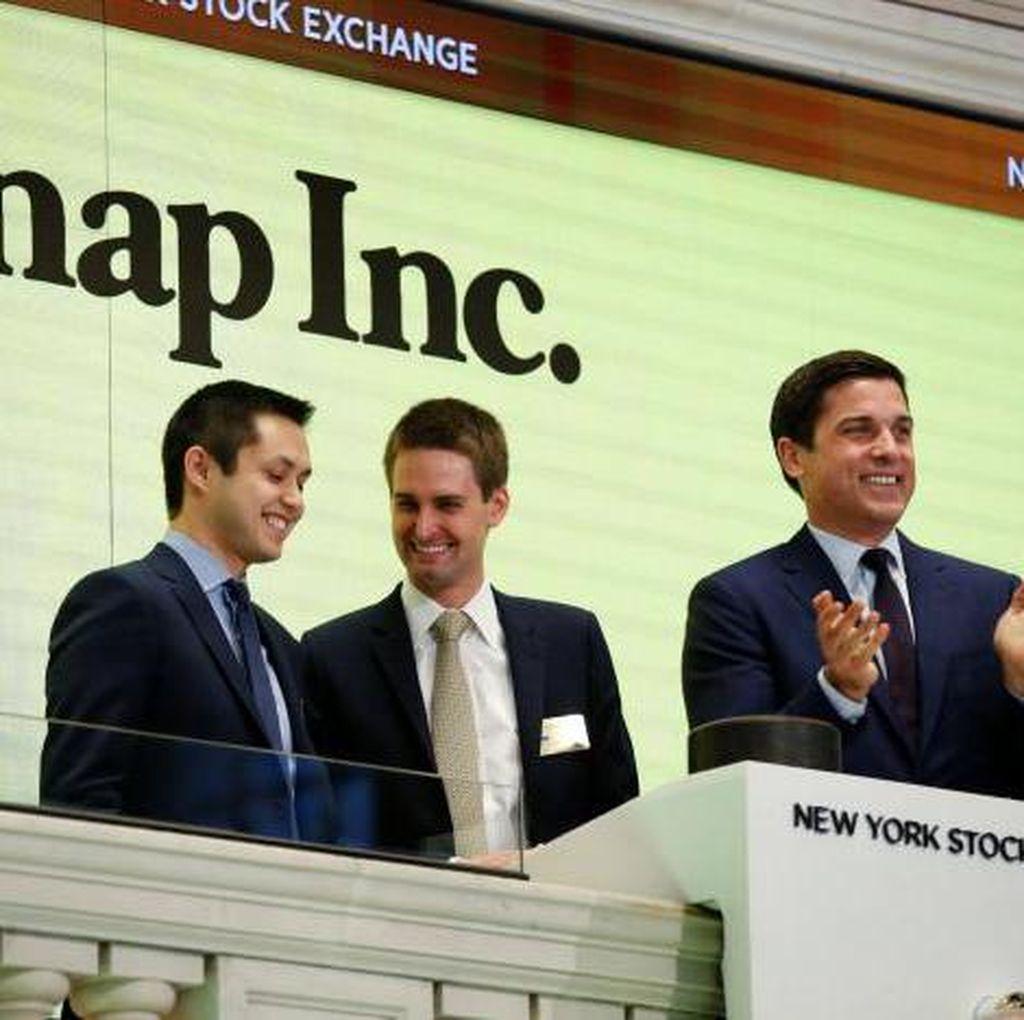 Sukses IPO, Nilai Induk Snapchat Tembus Rp 378 Triliun