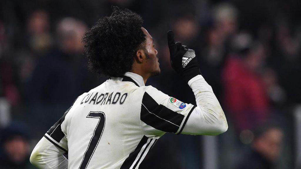 Cuadrado Ingin Bertahan di Juventus