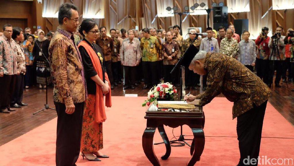 Lantik Pejabat Baru, Menteri PUPR: Jangan Bermewah-mewahan