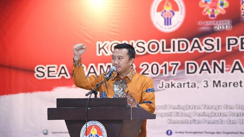 Asian Games 2018 Makin Dekat, Menpora Imbau Stake Holder Olahraga Lebih Solid