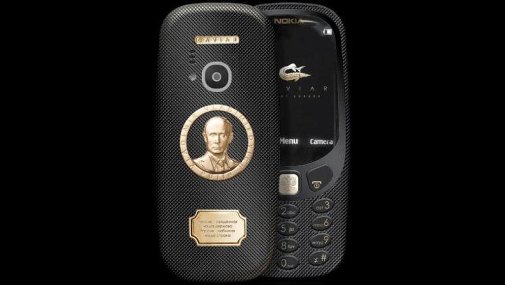 Nokia 3310 Reborn Edisi Vladimir Putin Dijual Rp 22 Juta