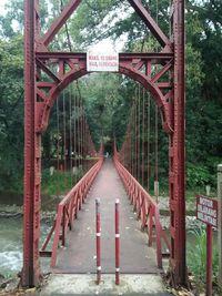 Jembatan merah (Bonauli/detikTravel)