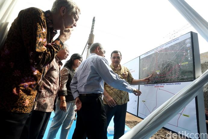 PLN Bangun Gardu Induk di Tambun Bekasi