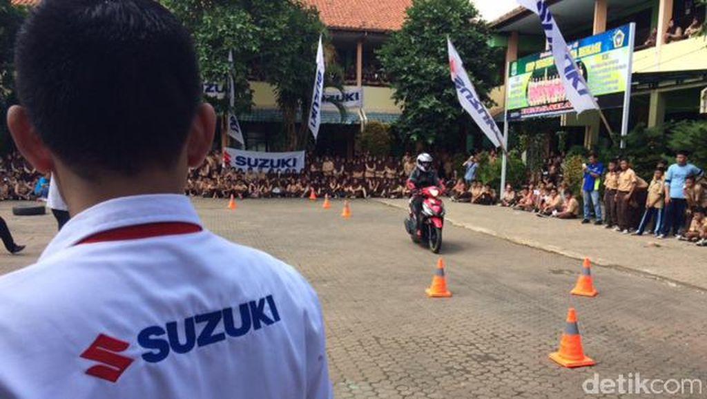 Angka Kecelakaan Tinggi, Suzuki Edukasi Pelajar