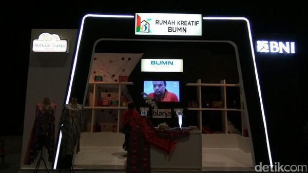 BNI Pamer Rumah Kreatif BUMN di Java Jazz 2017