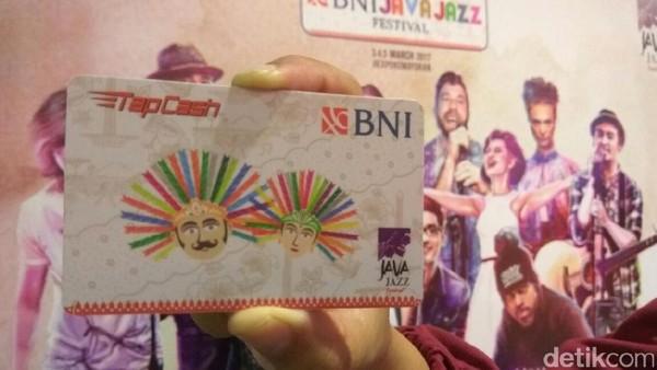 BNI Targetkan 20.000 Kartu TapCash Laris Manis di Ajang Java Jazz