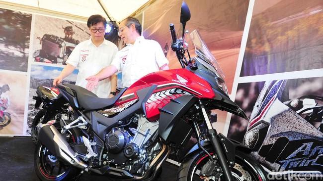 Honda Luncurkan Tampang Anyar Moge CB500X