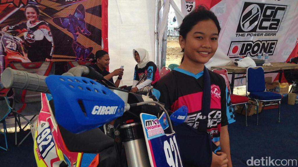 Crosser Wanita Indonesia Ini Petik Banyak Ilmu dari Para Crosser MXW