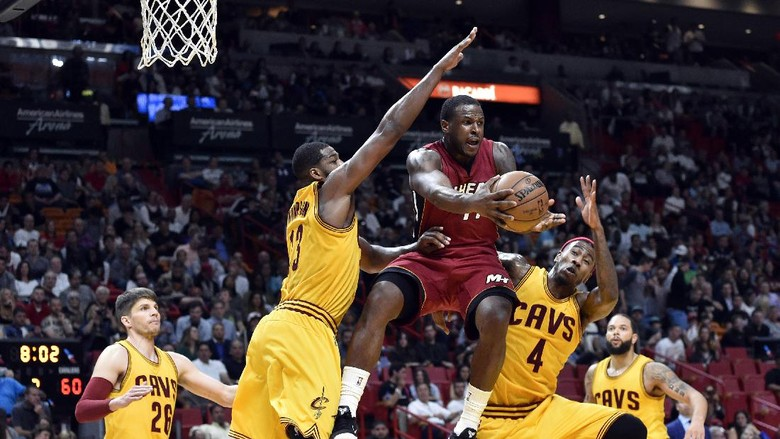 Tanpa James dan Irving, Cavs Kalah dari Heat
