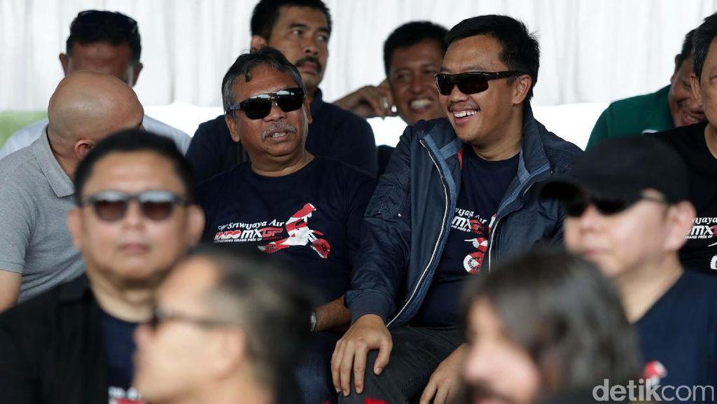 Menpora Nonton Langsung Indo MXGP