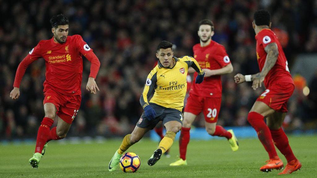 Keputusan Mencadangkan Sanchez Berbuah Kekalahan Arsenal dari Liverpool
