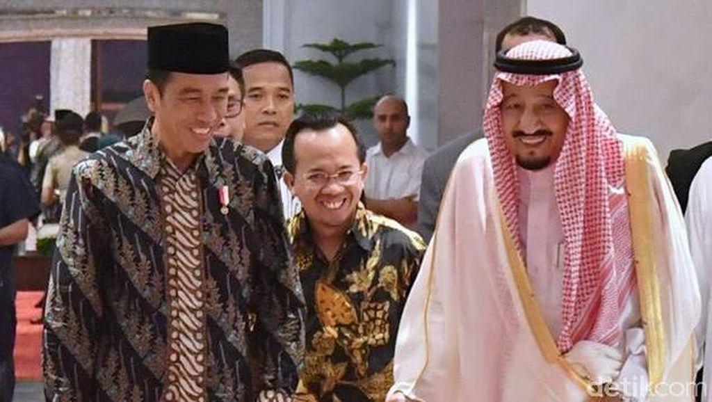 Jokowi: Saya Kecewa Investasi Saudi ke RI Rp 89 T, ke China Rp 870 T