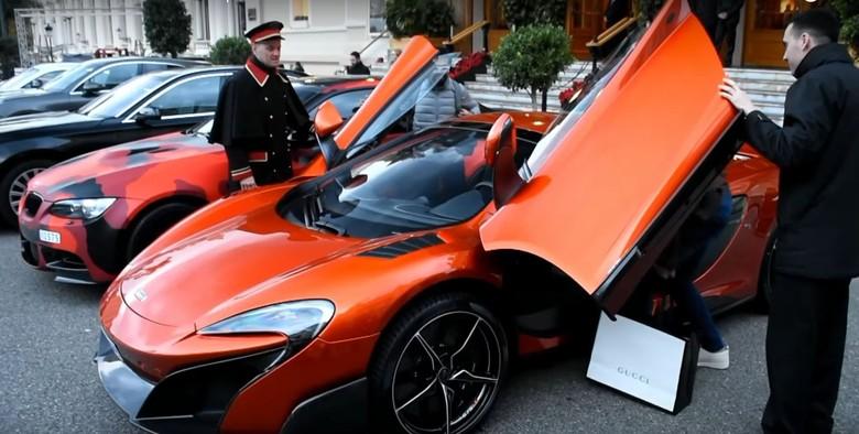 Radamel Falcao Kendarai McLaren 675LT