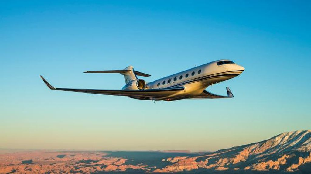 Dipakai Pangeran Arab, Ini Penampakan Jet Pribadi Gulfstream G650