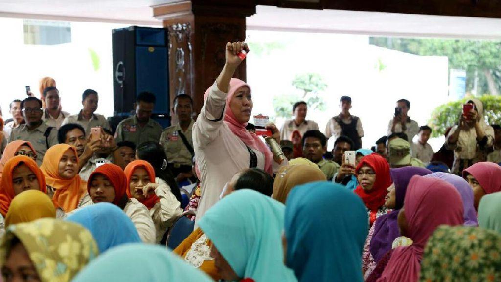 Mensos Salurkan Bantuan Rp 255,8 miliar untuk Bojonegoro