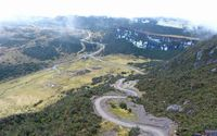 Jalan Trans Papua yang eksotis | detik.com