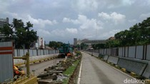 Pembangunan Underpass Kuningan-Mampang, 2 Busway Ditutup