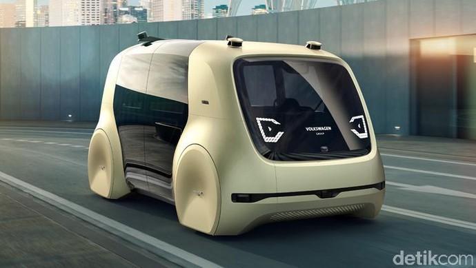 Di Masa Depan VW Tidak Butuh Setir, Pedal dan Kokpit