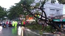 Korban Tewas Akibat Hujan Angin di Surabaya Diterbangkan ke Sulawesi